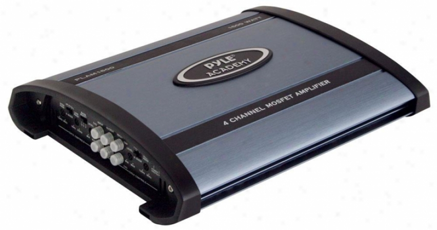 Pyle 1600 Watts 4 Channel Bridgeable Amplifier