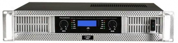 Pyle 19'' Rack 8000 Watt Professional Power Amplifier W/ Digitql Smt Technology