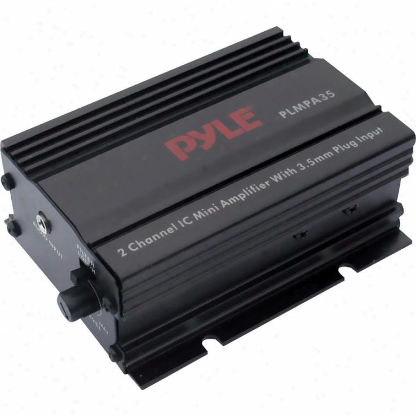 Pyle 2-channel 300-watt Mini Ampljfier W/ 3.5mm Input