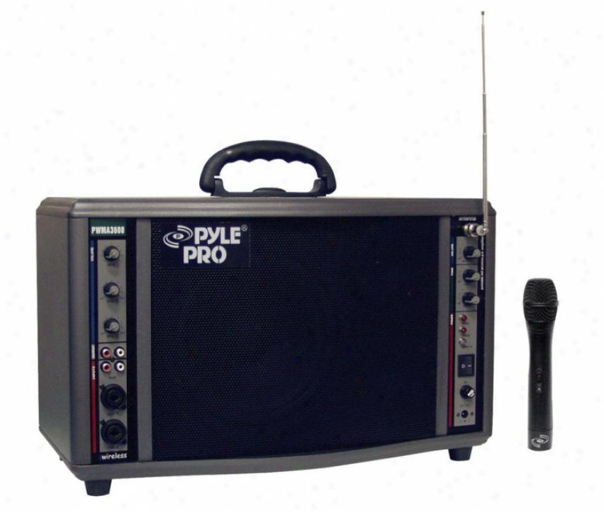 Pyle 200 Watt Wireless Battery Powered Pa System