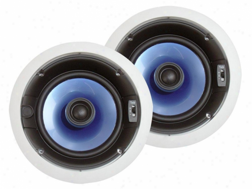 Pyle 250 Watt 6.5'' Two-wa6 In-ceiling Speaker System
