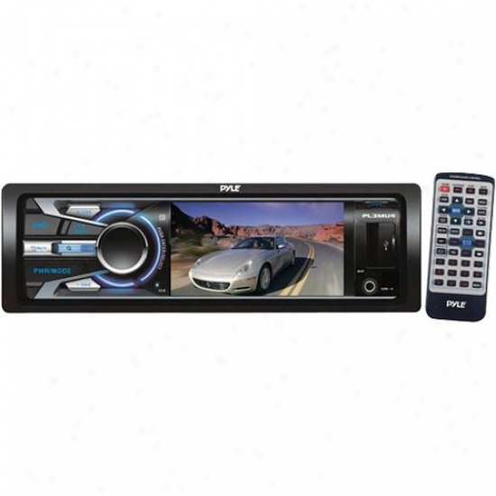 Pyle 3-in Tft/lcd Monitor Mp3/mp4/rmvb/rm/ssd/usb Actor &amp; Am/fm Receiver