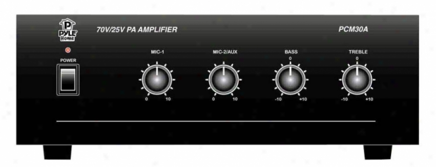 Pyle 30 Watt Pa Amplifier Pcm30a
