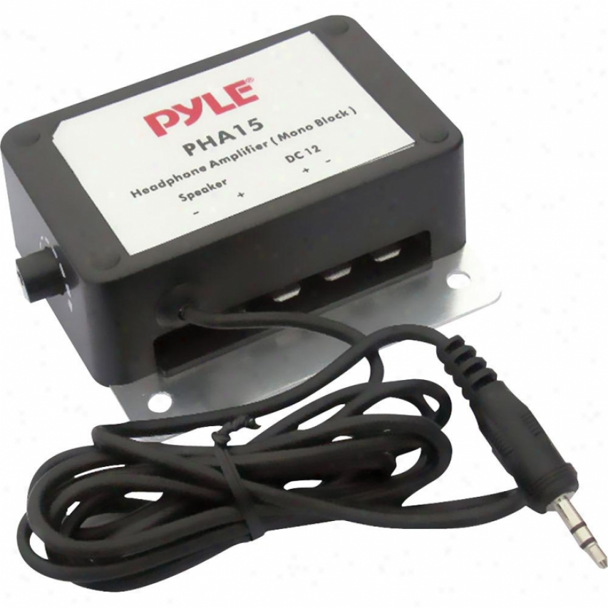 "Pyle 3.5mm / 1/8"" 150-watt Mono Audio Amplifier - Pha15"