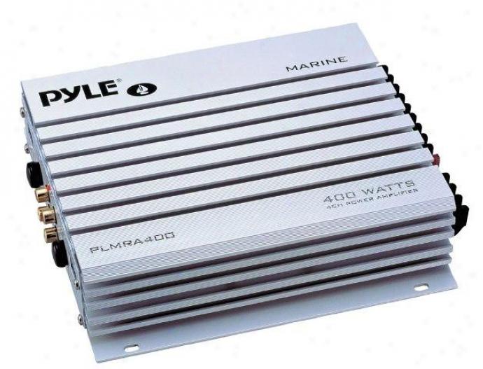 Pyle 4-channel 400-watt Waterproof Marine Amplifier - Plmra400