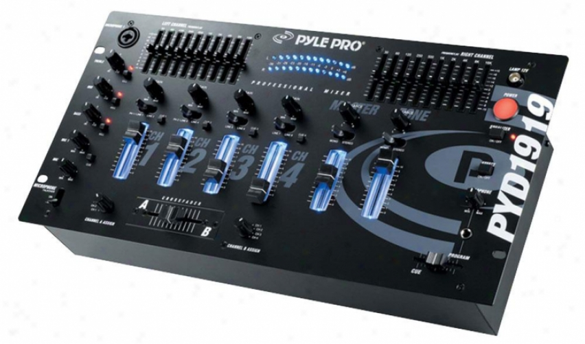 Pyle 4 Channel Professional Mixer