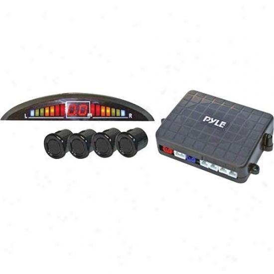 Pyle 4 Parking Senosr System & Led Display