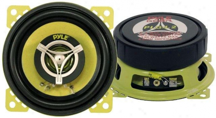 Pyle 4'' 140 Watt Two-way Speakers