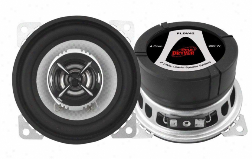 Pyle 4&#039;&#039; 200 Watt Two-way Speaker