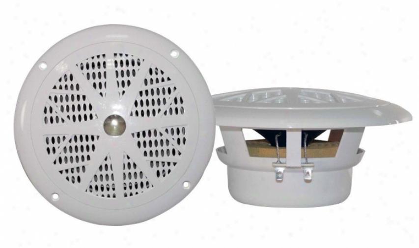Pyle 4'' Dual Cone Waterproof Stereo Speaker System