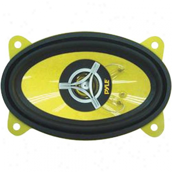 Pyle 4'' X 6'' 1800 Watt Two-way Speakers