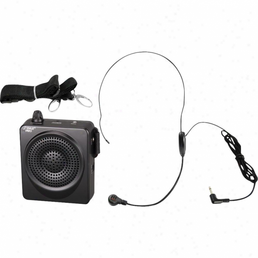 Pyle 5-watts Movable Waist-band Pa System W/ Headset Microphone Pwa50