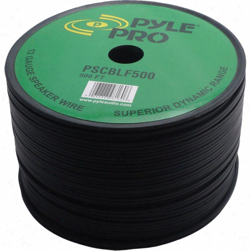 Pyle 500-feet 12-awg Spool Speaker Cable W/ Rubber Jerkin - Pscblf500
