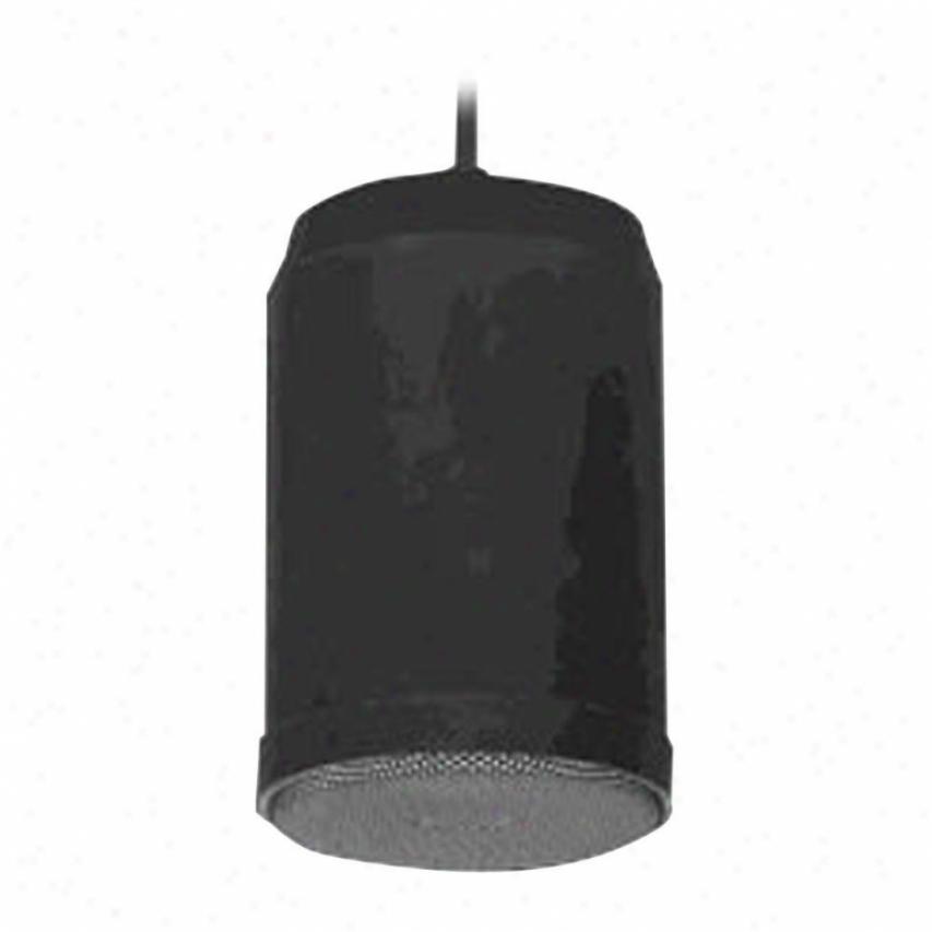 Pyle 5'' 70v 20 Watts Ceiling Hanging Pendent Speaker With 70v ,transformer (bla