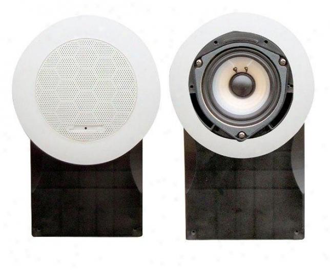 Pyle 5'' High Quality Pp Cone & Pu Edge 500 Waatts Marine Speakers (white)