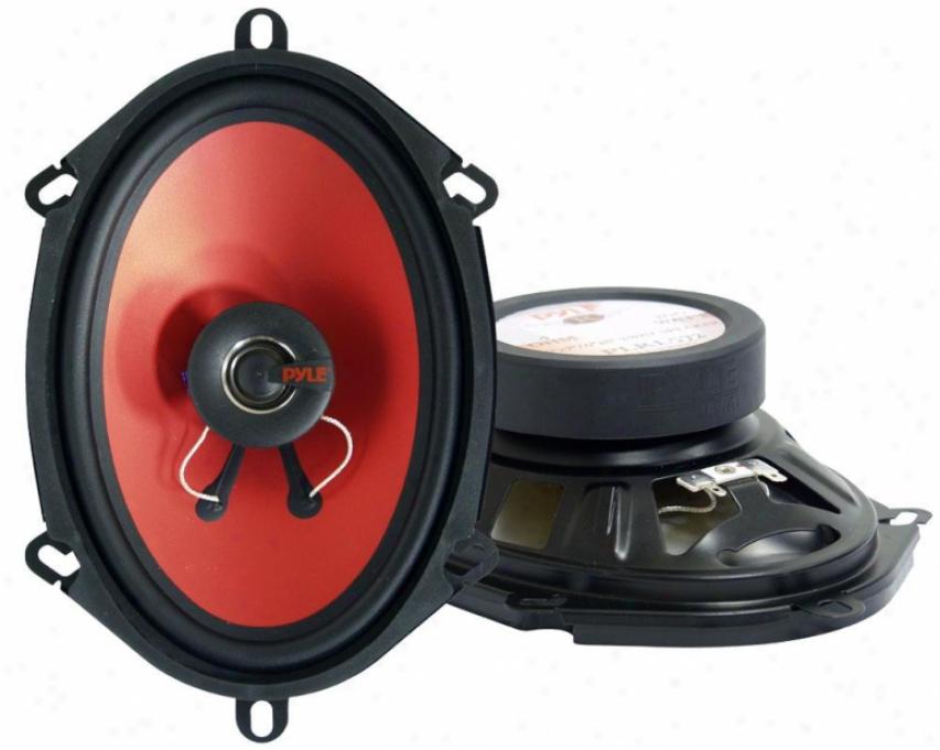 Pyle 5''x 7'' & 6'' X 8'' 200 Watt Two-way Speakers