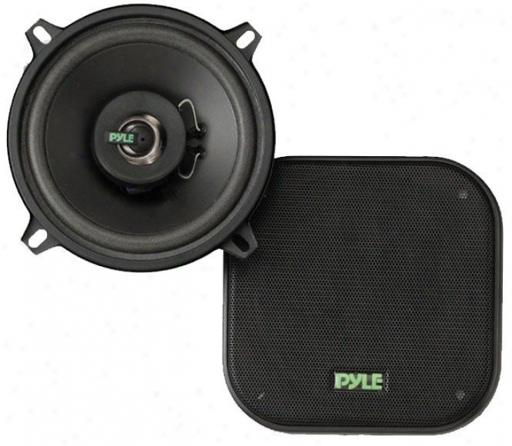 Pyle 5.25'#&039; 120 Watt Two-way Speakers