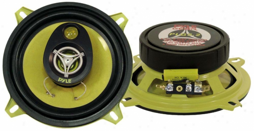 Pyle 5.25'' 140 Watt Two-way Speakers