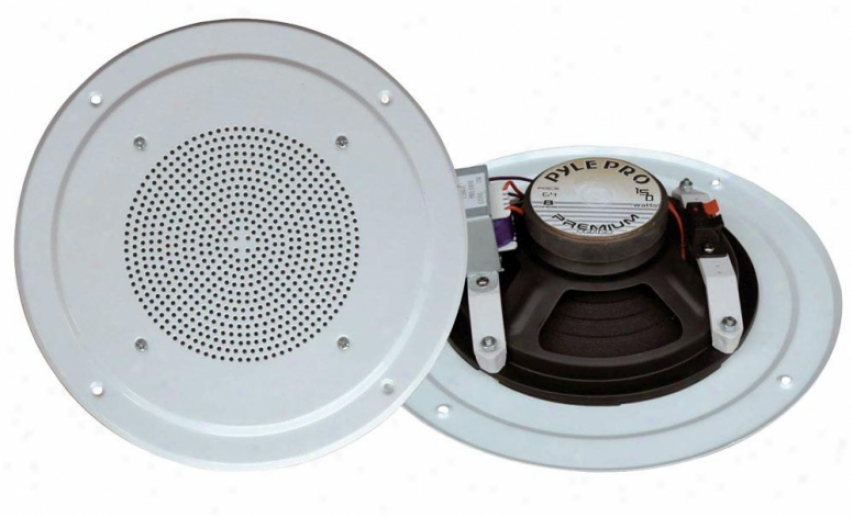 Pyle 6-1/2&#039;&#039; Full Range In-ceiling Spekaer System W/transformer