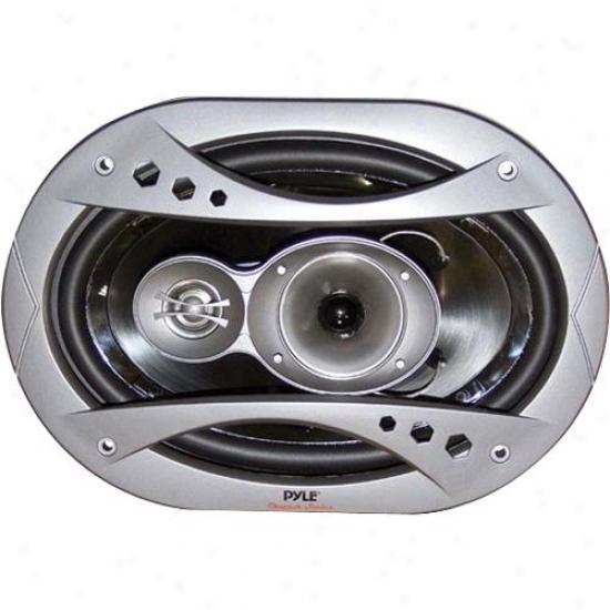 Pyle 6'' X 9'' 360 Watt 3-way Speaker System