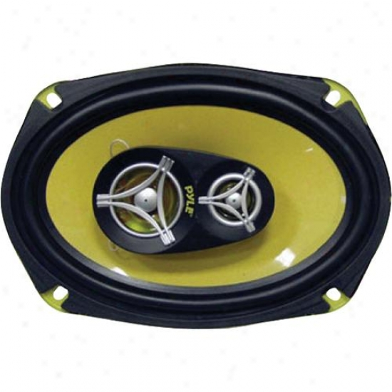 Pyle 6&#039#039; X 9'' 360 Watt Three-way Speakers