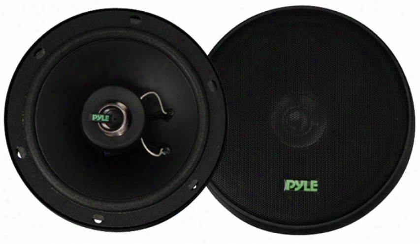 Pyle 6.5'' 160 Watt Two-way Speakers