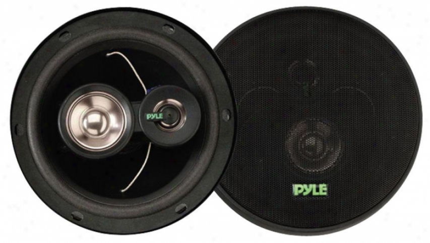 Pyle 6.5'' 180 Watt Three-way Speakers