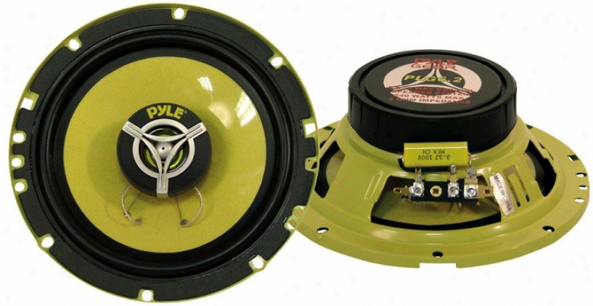 Pyle 6.5'' 240 Watt Two-way Speakers