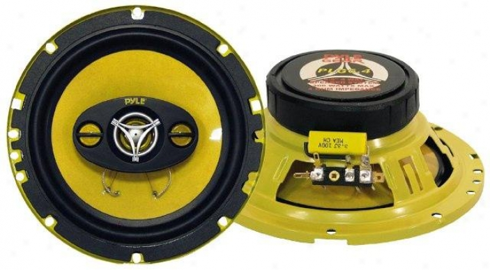 Pyle 6.5'' 300 Watt Four-way Speakers