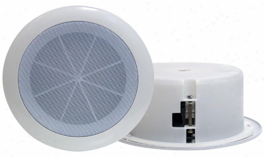 Pyle 6.5'' Full Range In-ceiling Flush Mount Enclosure Speaker System