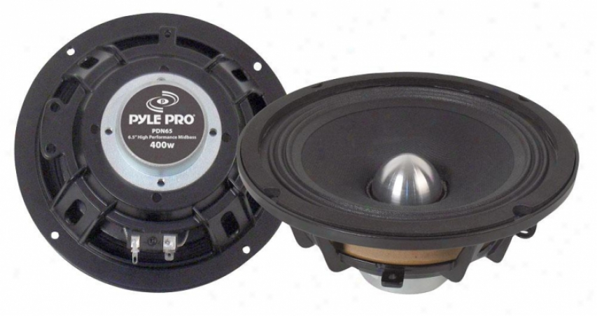 Pyle 6.5'' High Power High Action Midbass