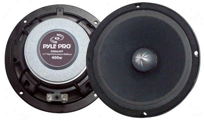 Pyle 6.5'' High Power High Performance Neodymium Midbass
