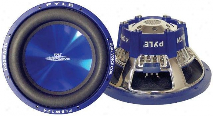 Pyle 8-inch 600-watt Dvc Car Subwoofer - Plbw84
