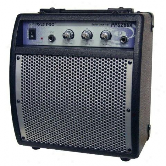 Pyle 80 Watts Portable Guitar Amplifier