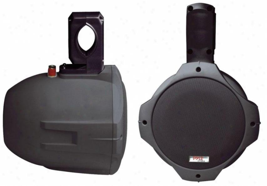 Pyle 8'' 300 Watt Two-way Black Wake Bord Speakers