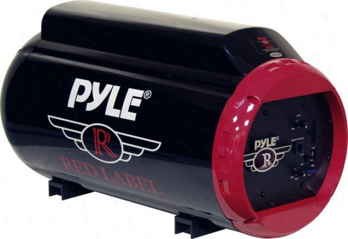 "Pyle 8"" 400 Watt Amplified Injection Molded Subwoofer Tube"