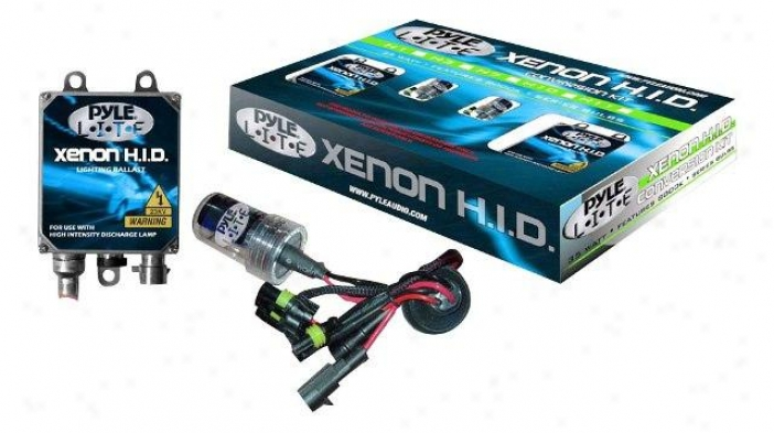 Pyle 9004 8000k Dual Shoot forth (low/high) Hid Xenon Driving Light System