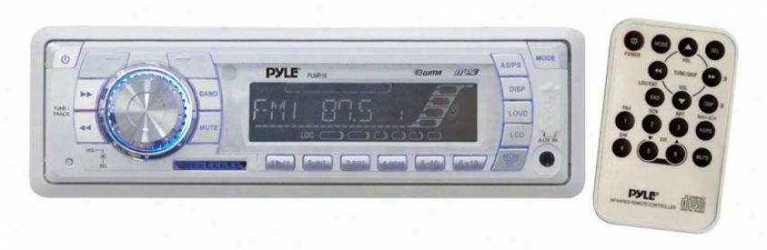 Pyle Am/fm-mpx Pll Tuning Radio With Sd/mmc & Usb - Plmr18