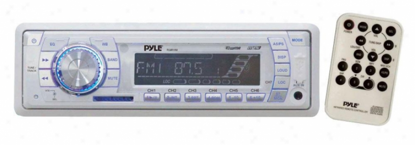 Pyle Am/fm-mpx Pll Tuning Radoo W//sd/mmc/usb & Weather Band