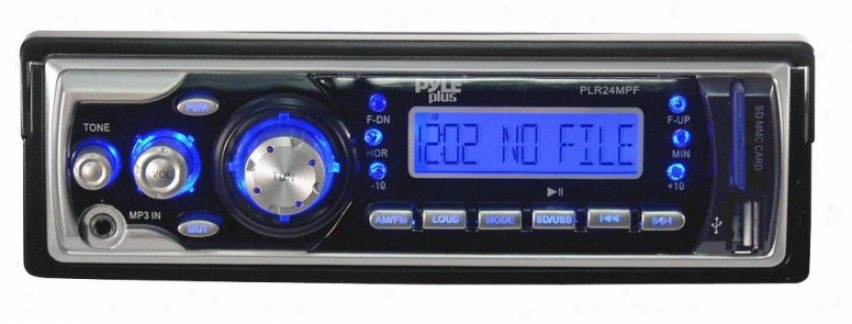 Pyle Am/fm Receiver Mp3 Playback With Usb/sd/aux-in