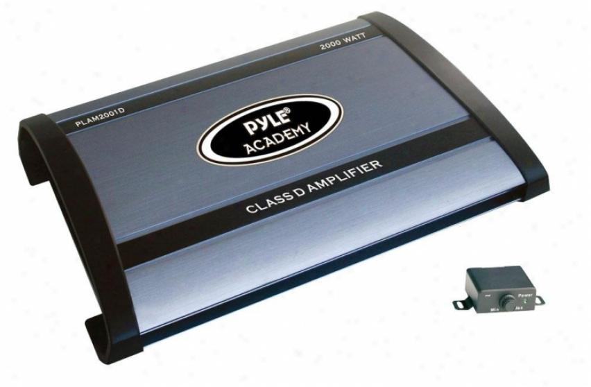 Pyle Class D Monoblock Power Amplifier