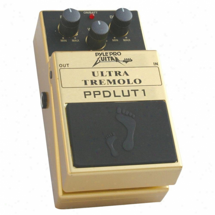 Pyle Classic Tremolo Effects Pedal