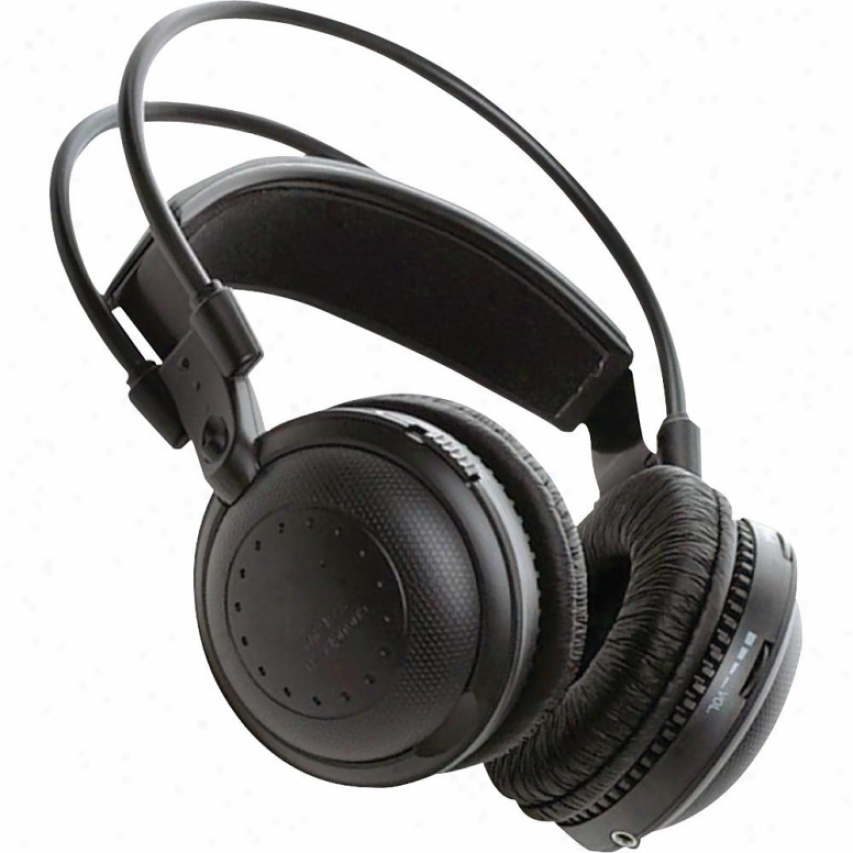 Pyle Dual A/b Channel Infrared Wireless Stereo Headphones - Plvvwh3