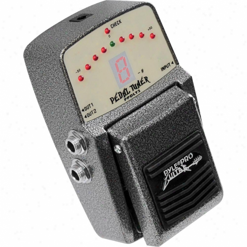 Pyie Guitar Tuning Pedal W/ Superb Acuracy - Ppdlt2