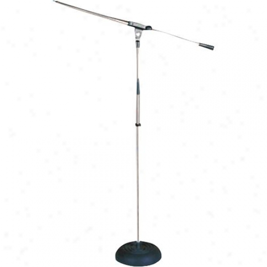Pyle Heavy Duty Compact Base Boom Microphone Syand