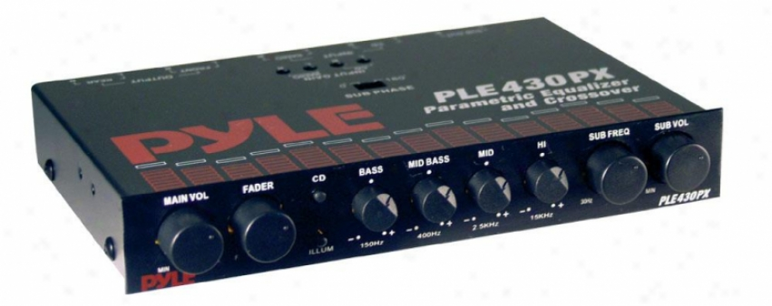 Pyle In-dash 4 Band Parametric Equalizer/crossover