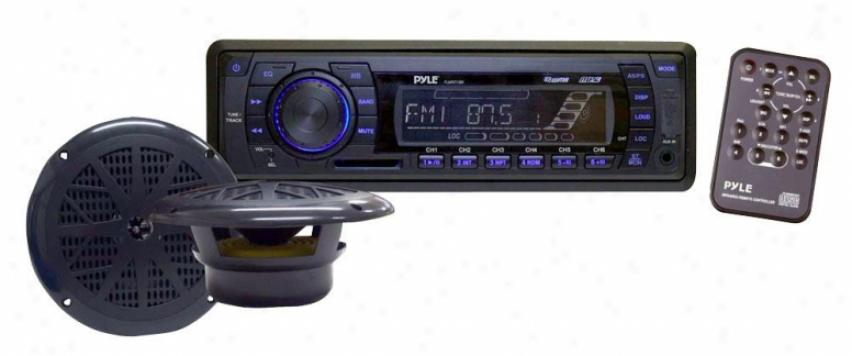 Pyle In-dash Marine Am/fm Plk Tuning Radio W/ Usb/sd/mmc Reader