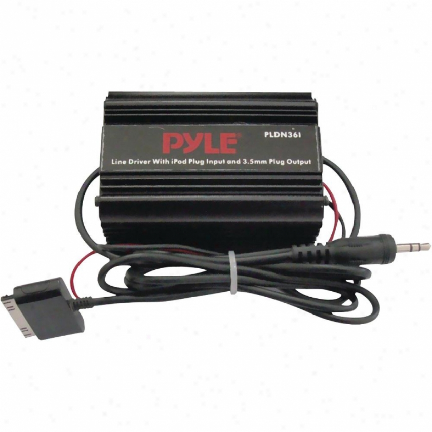 Pyle Ipod Direct To 3.5mm / 1/8-in Stereo Aidio Ground Loop Isolator/ Audio Line