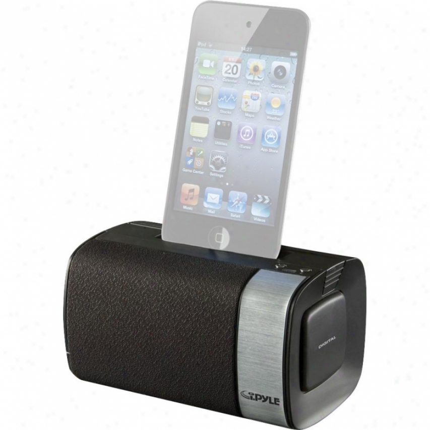 Pyle Ipod/itouch/iphone Audio Dockinf Portable Speaker Scheme