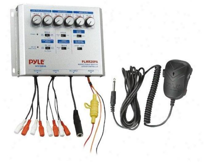 Pyle Marine Public Address System Controller Plmr20pa